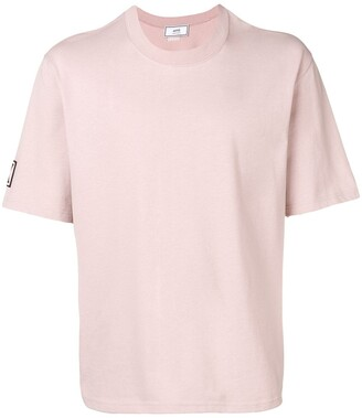 Ami Paris number patch crew neck T-shirt