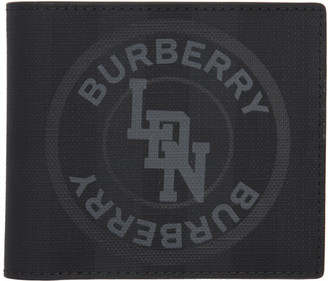 Burberry Grey London Check Wallet