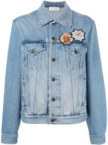 Faith Connexion Paris denim jacket - women - Cotton/PVC - XS