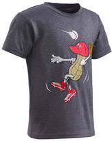 Under Armour Boys 2-7 Peanut Outfielder Raglan Tee