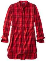 L.L. Bean Signature Heritage Utility Tunic Shirt, Plaid
