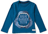 Joules Little Boys 3-6 Finlay Teeth-Graphic Tee