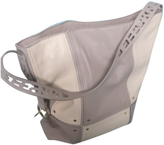 Liebeskind Berlin Grey Leather Handbags