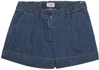 Il Gufo Stretch denim shorts