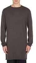 Rick Owens Men's Cashmere Elongated Sweater-Grey