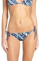 Dolce Vita Women's Reversible Side Tie Bikini Bottoms