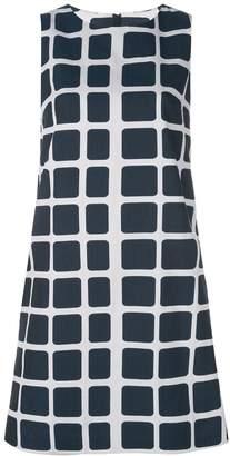 Paule Ka short checked dress