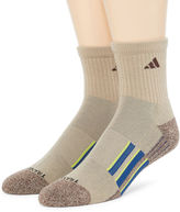adidas Mens 2-pk. climalite Performance Short Crew Socks