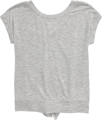 Zella Split Back Rib T-Shirt