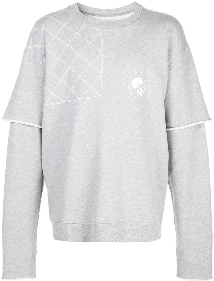 d0fa3e87be 117 quilted sweatshirt