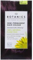 Botanics Hair Colour Dark Violet Brown Semi Permanent