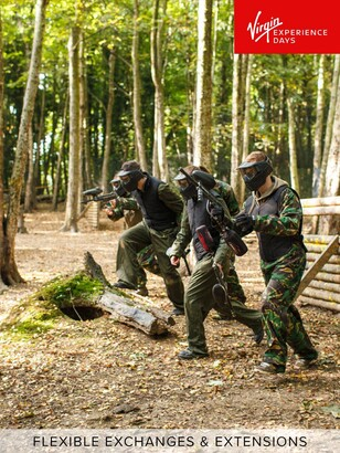 Virgin Experience Days Full Day Paintballing for Four in a Choice of 60 Locations