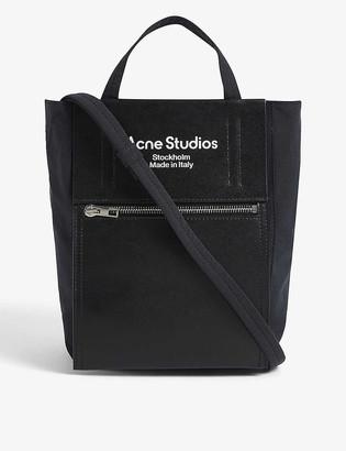 Acne Studios Baker small nylon tote bag