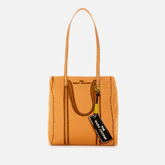 Marc Jacobs Women's The Tag Tote Bag 27 - Toast Multi