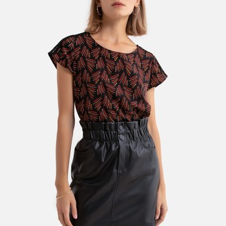 Only Printed Short-Sleeved Blouse