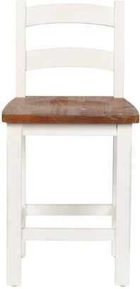 Design Tree Home Stacy Ladder Back Counter Stool