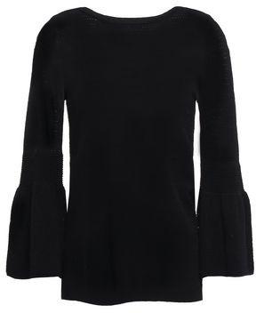 Autumn Cashmere Pointelle-knit Top