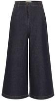 Fendi Wide-leg Cropped Jeans