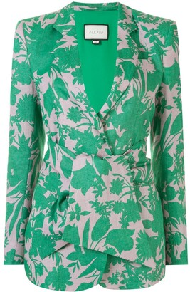 Alexis Kopar botanical print jacket