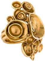 Saint Laurent Arty Flower Ring