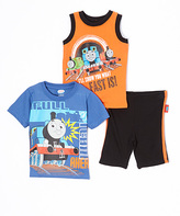 Children's Apparel Network Thomas & Friends Tank & Short Set - Toddler
