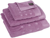 Camilla And Marc Vossen - Country Style Towel - Orchid Pink - Bath Towel - 67 x 140 cm