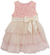 Rare Editions Lace and Tulle Dress, Baby Girls (0-24 months)