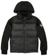 JCPenney Vertical 9 Fleece-Sleeved Vest w/ Hood - Boys 6-20