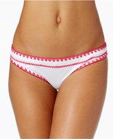 Bar III Stitches Hipster Bikini Bottoms, Created for Macy's Women's Swimsuit