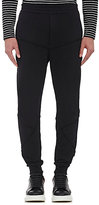 Alexander McQueen Men's French Terry Sweatpants-BLACK