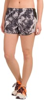 Reebok Printed Runner Shorts - Built-In Briefs (For Women)