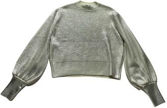 MSGM Silver Wool Knitwear