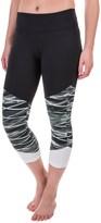 Marika Balance Collection Push Printed Capri Leggings (For Women)