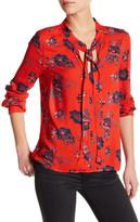 Splendid Floral Popover Shirt