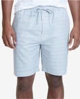 Nautica Men's Windowpane Plaid Cotton Pajama Jam