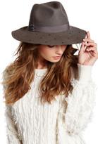 Vince Camuto Mini Wool Square Stud Panama Hat