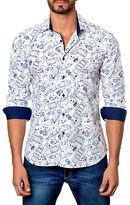 Jared Lang Contrast Illustration Sportshirt
