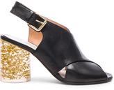 Maison Margiela Leather Slingback Heels