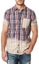 Buffalo David Bitton Contrast Plaid Sportshirt