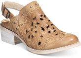 Naughty Monkey Ms. Kali Block-Heel Western Booties Women's Shoes