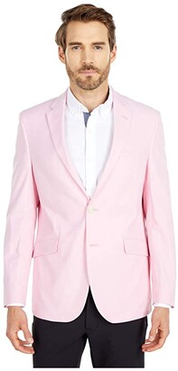 Kenneth Cole Reaction Unlisted Chambray Blazer (Pink) Men's Clothing