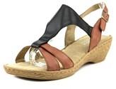 Bella Vita Gubbio N/s Open Toe Leather Wedge Sandal.