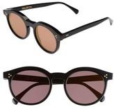 Wildfox Couture Women's Harper Zero 53Mm Round Keyhole Sunglasses - Black