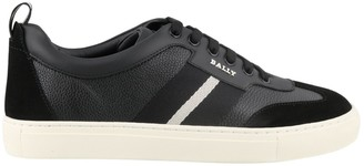 Bally Helty Striped Sneakers