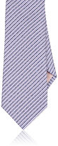 Fairfax Men's Grid-Pattern Silk Jacquard Necktie