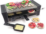 Swissmar Lorcarno Raclette Pizza Grill with Granite Stone Top