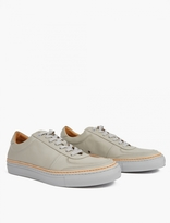 Number 288 Grey Grand Low Basketball Sneakers