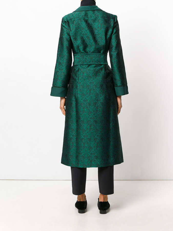 F.R.S For Restless Sleepers brocade nightgown coat