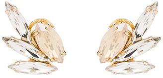 Anton Heunis Swarovski crystal wing earrings