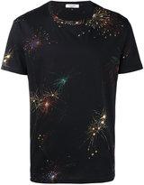 Valentino firework print T-shirt